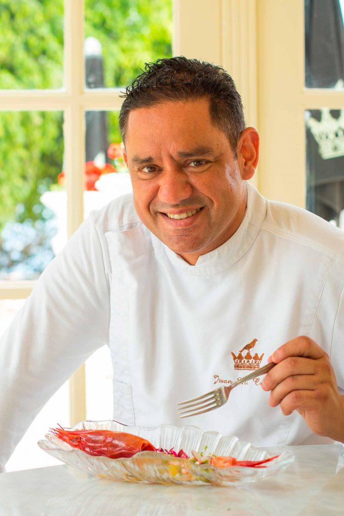 Chef Juan Miguel Cabrera