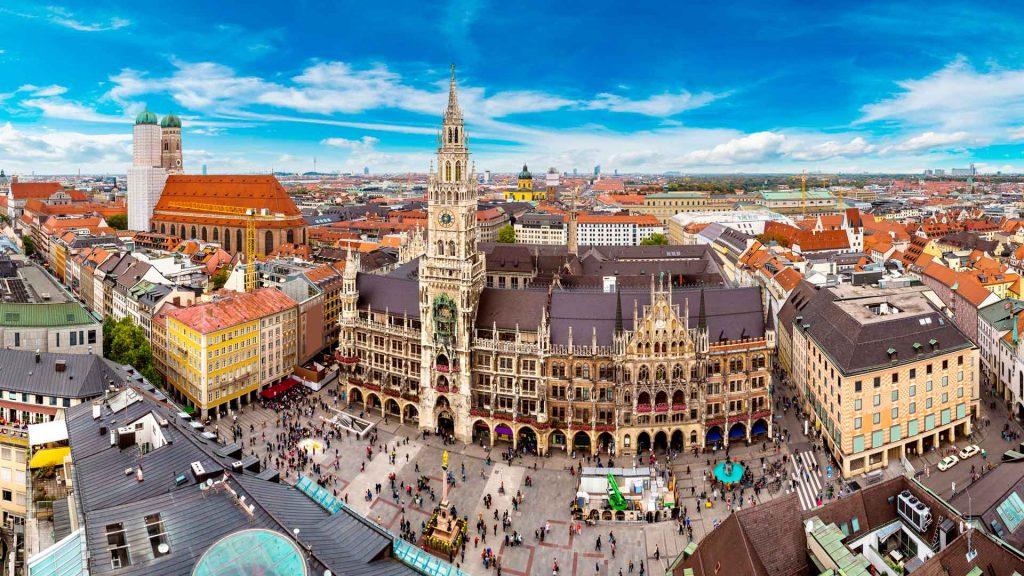 Múnich, seductora ciudad alemana