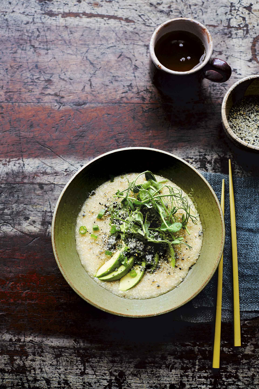 Porridge de estilo japonés