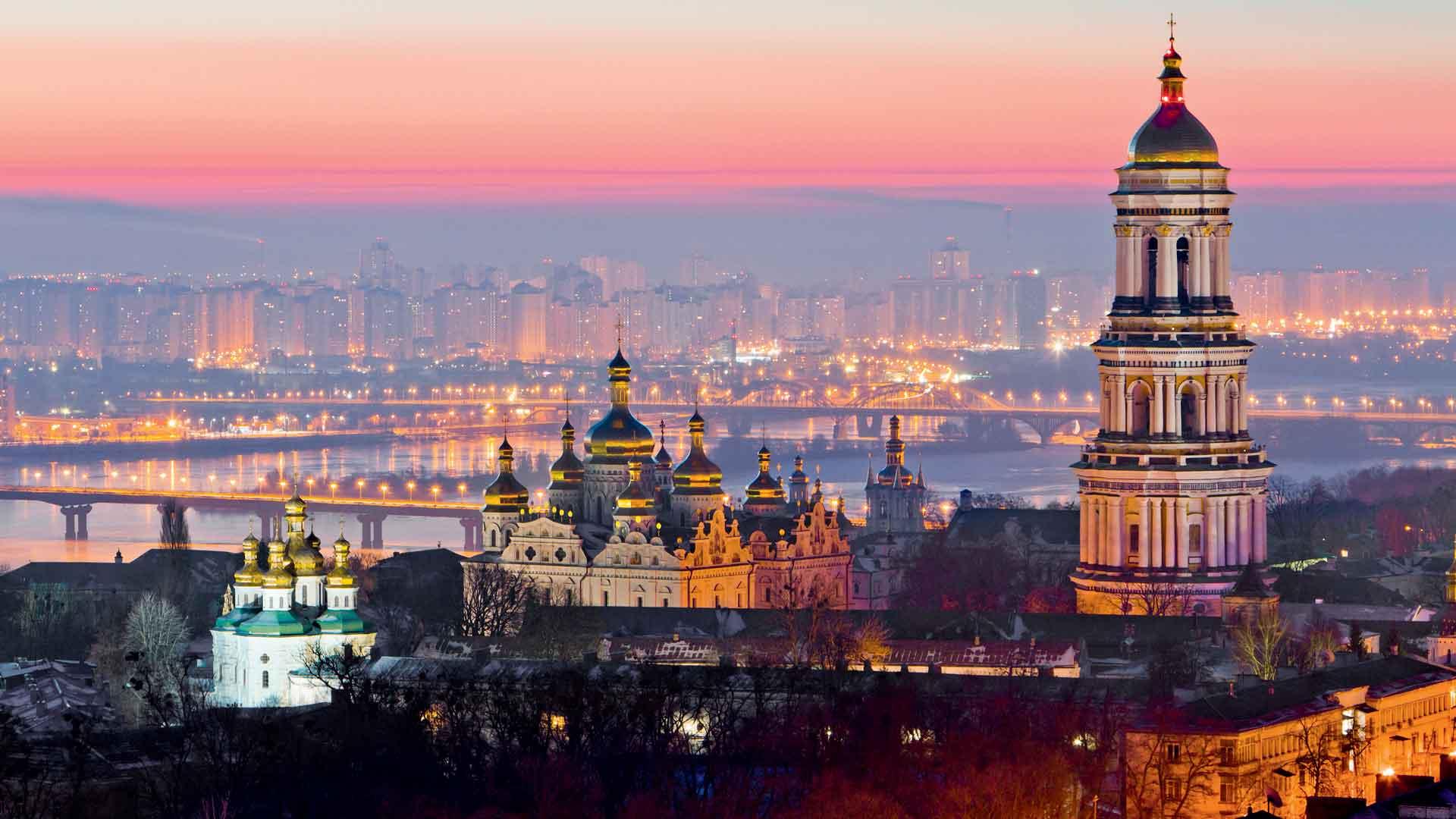 Kiev, la capital dorada de Ucrania