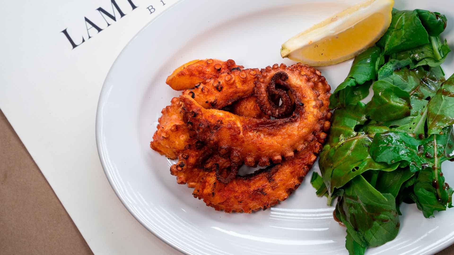 El sabor del mar llega a Lampuga Bistro