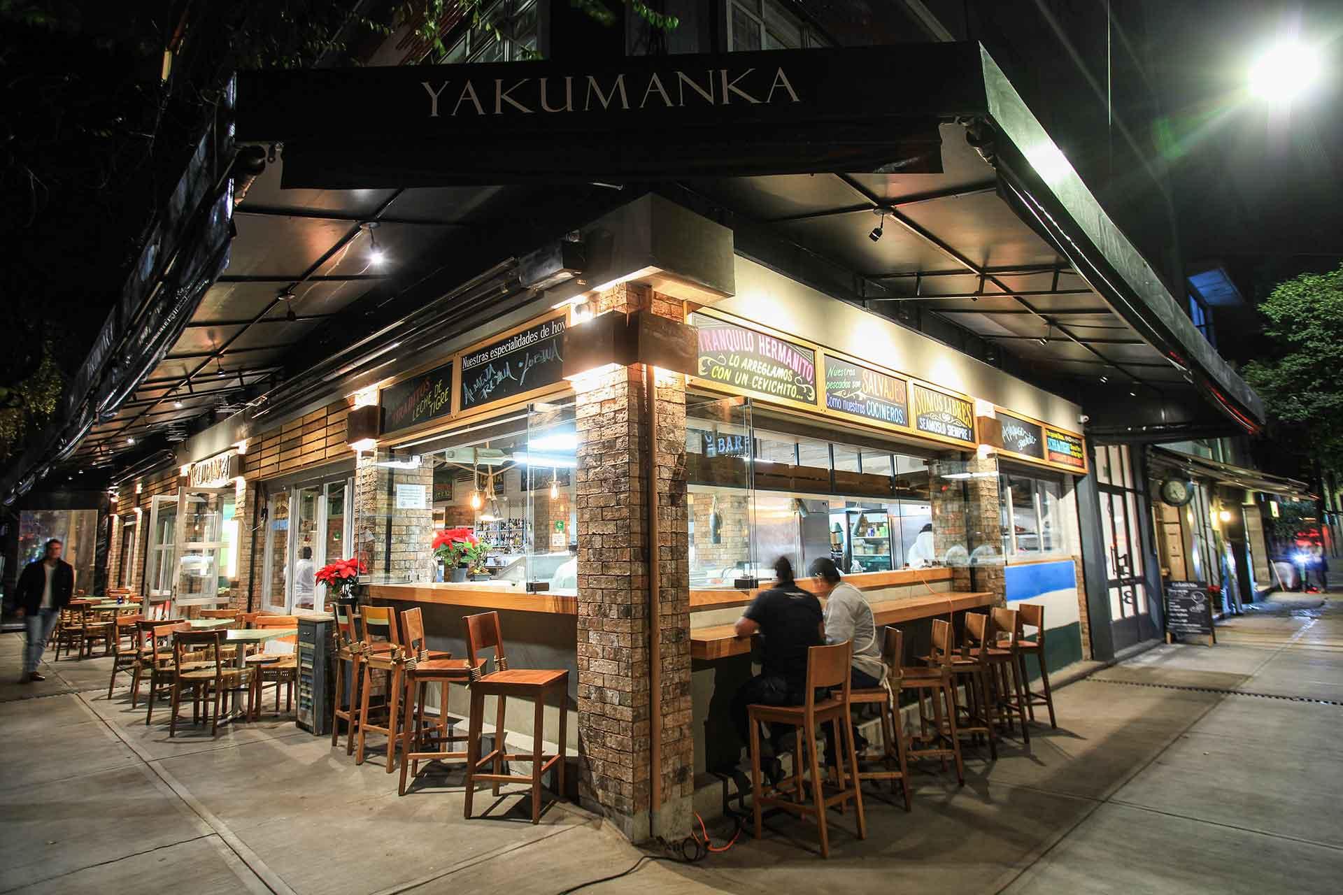 restaurante Yakumanka