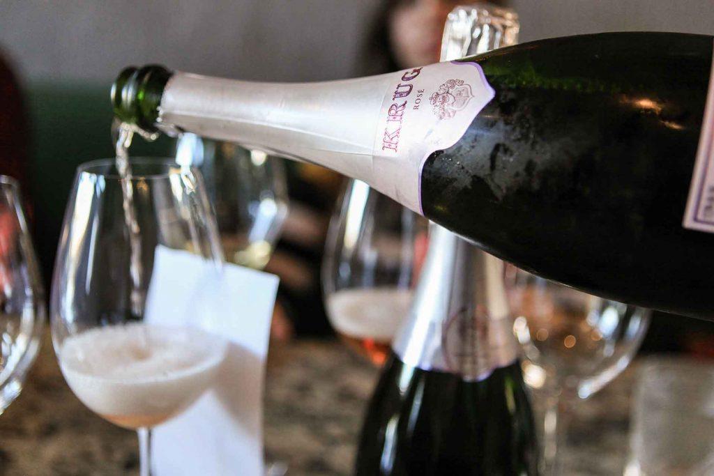champaña Krug