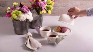 Macarrones y té… ¡pareja decembrina!