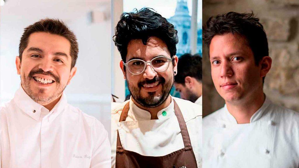 Chefs mexicanos galardonados con estrellas Michelin
