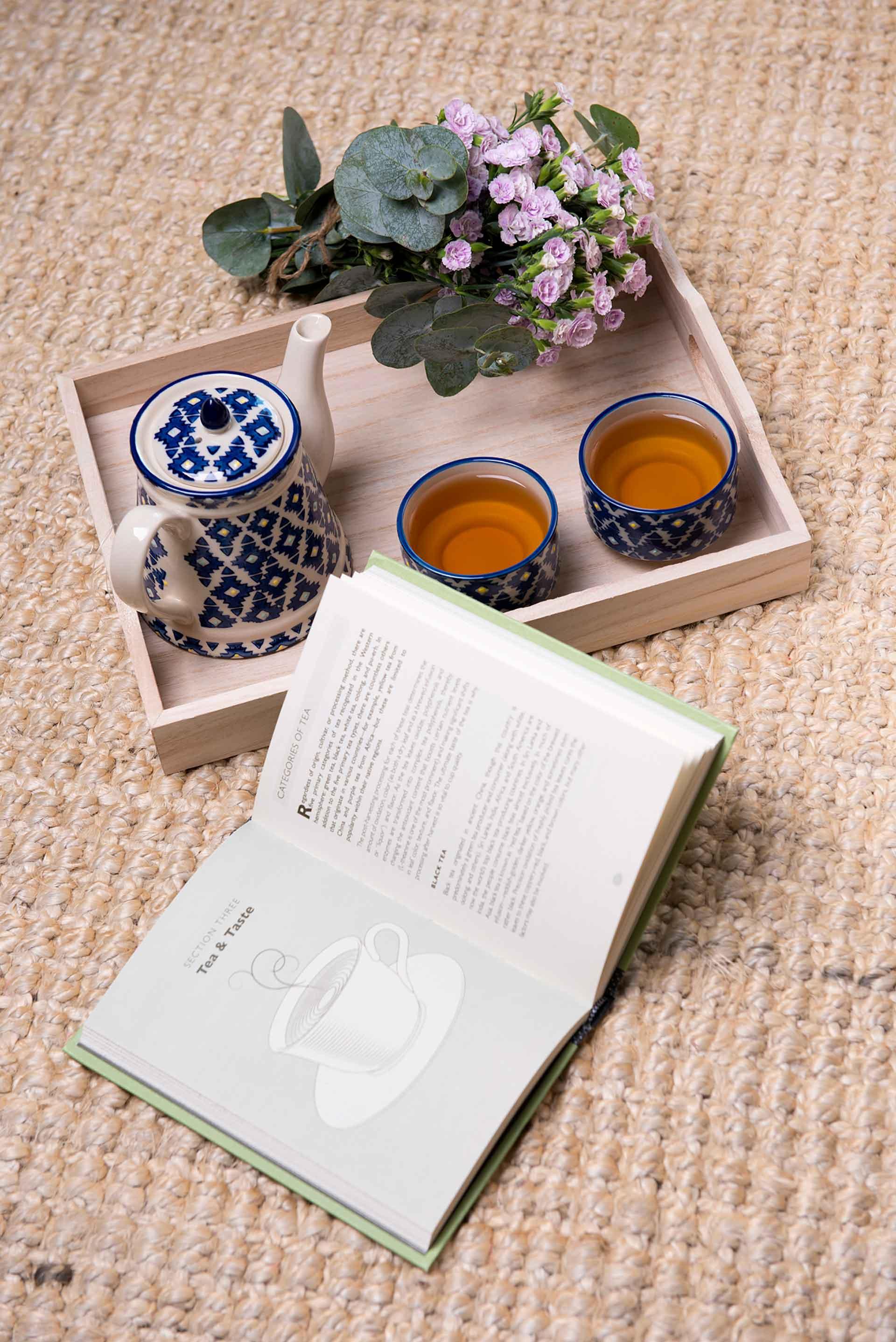 Tamaliza con té