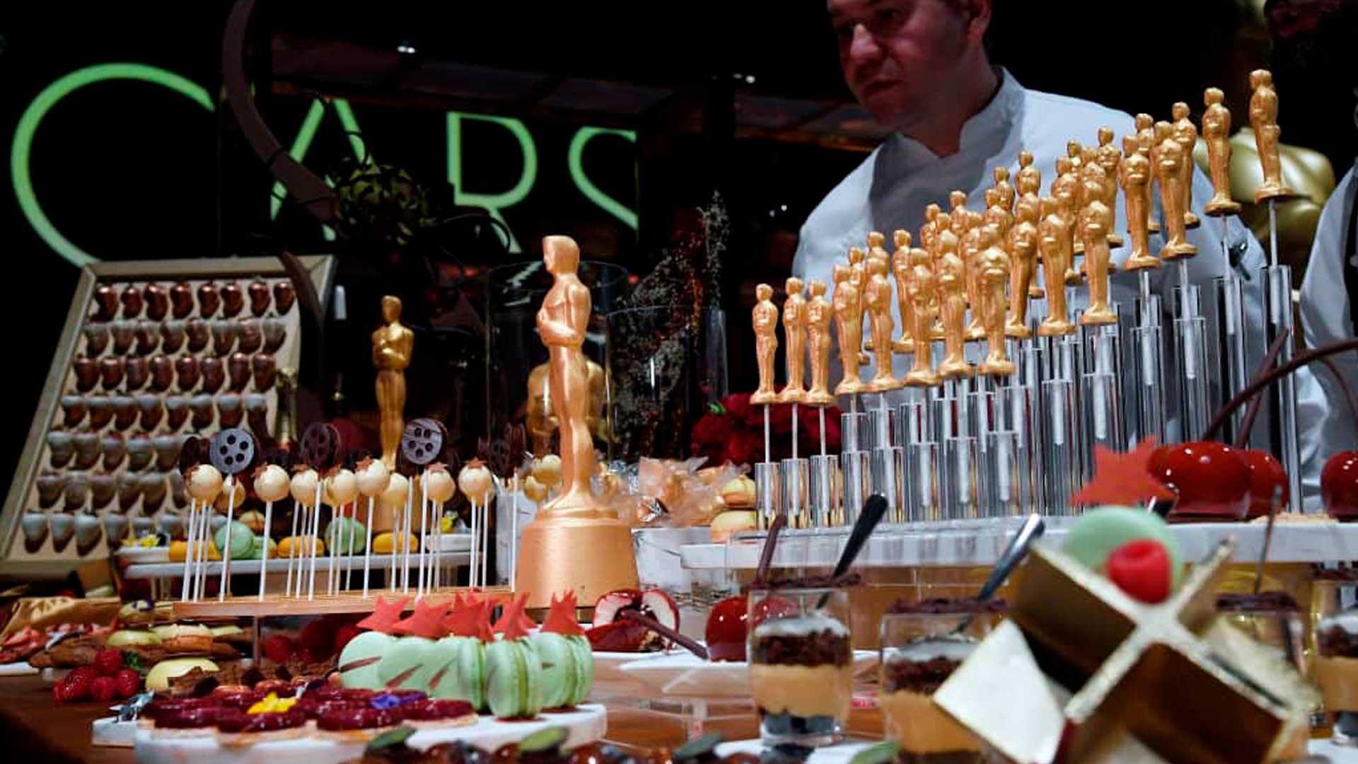 ¿Qué cenarán en los Premios Oscar?