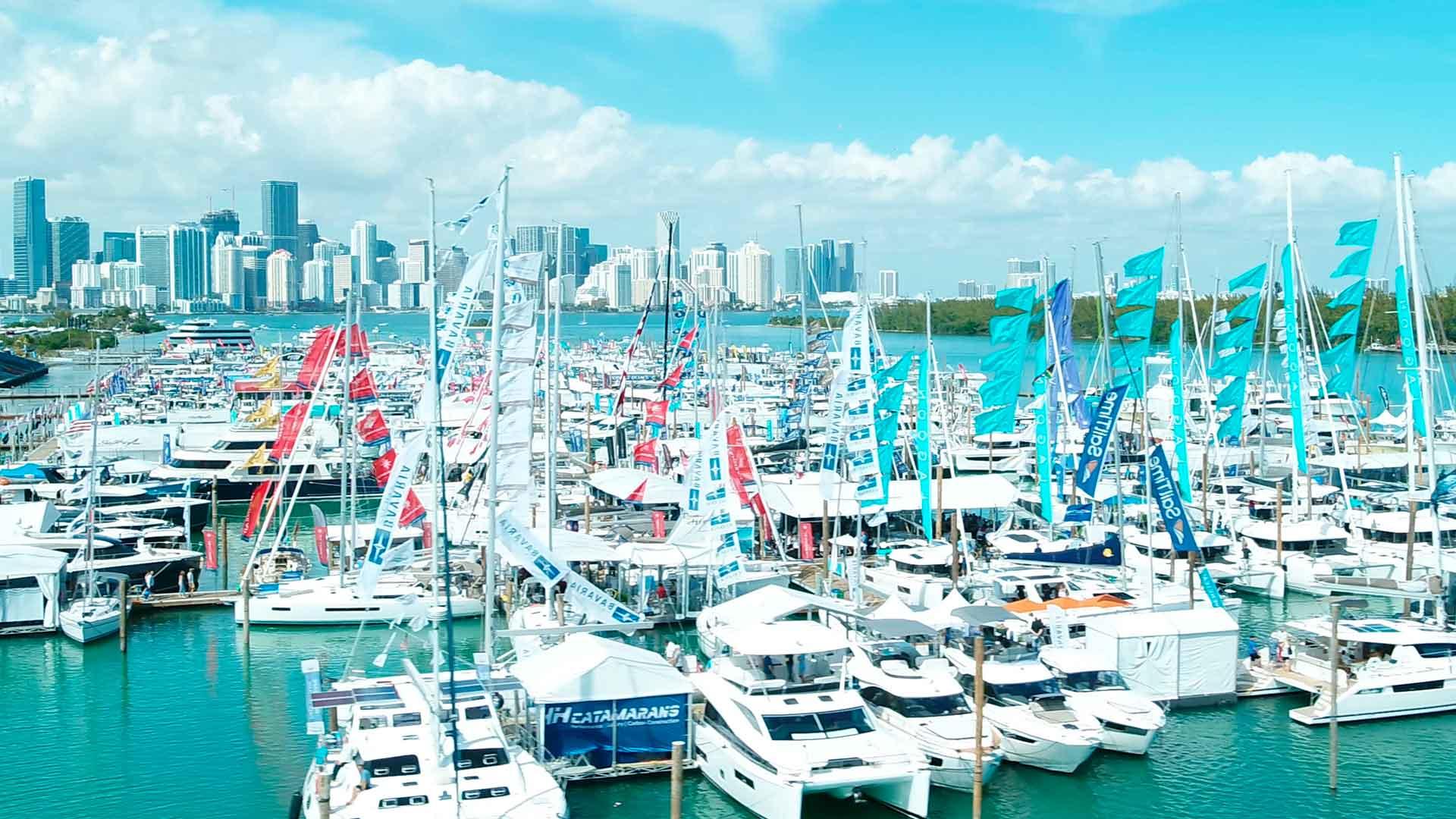 Tu barco favorito en Miami Boat Show