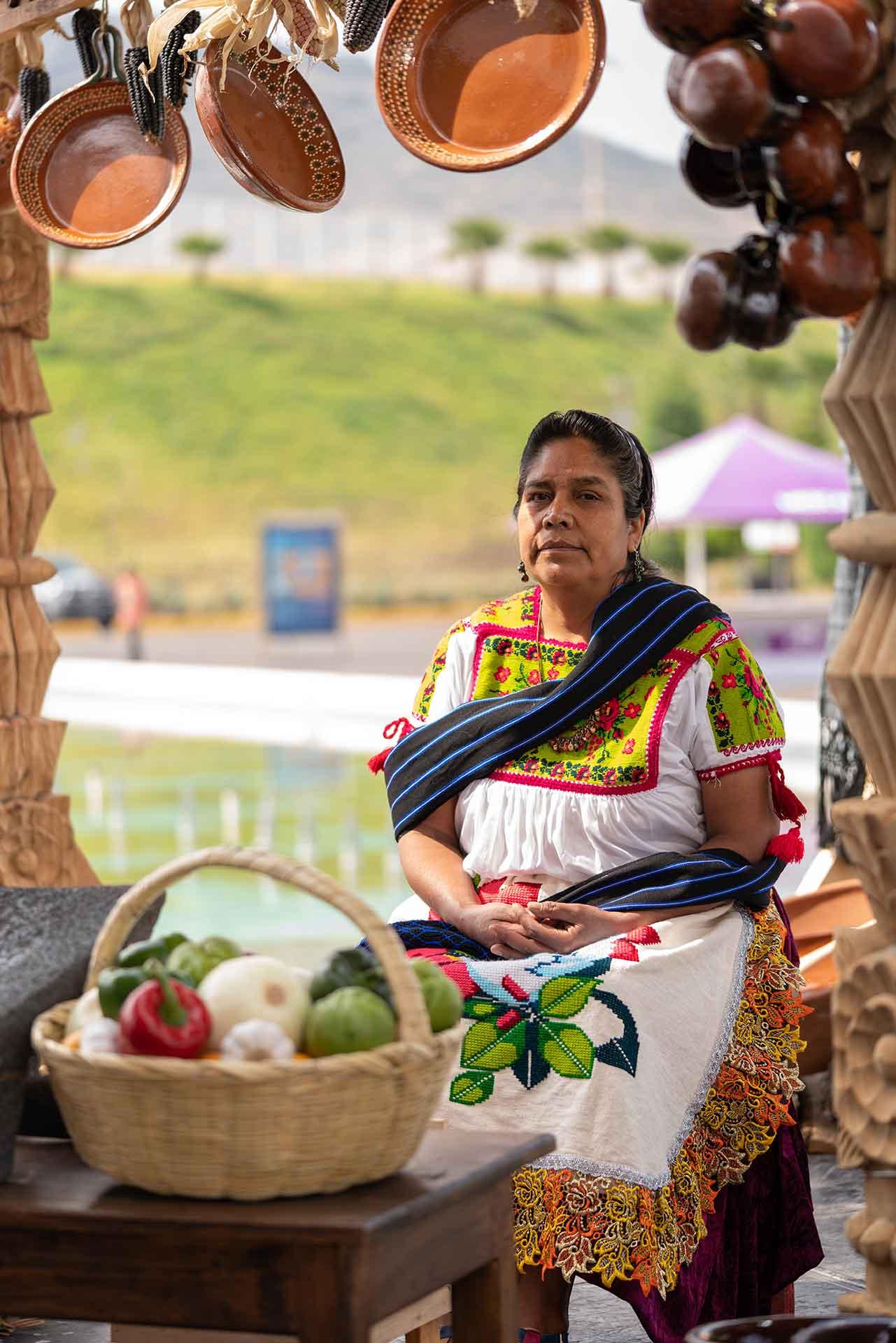 Cocineras tradicionales Michoacán