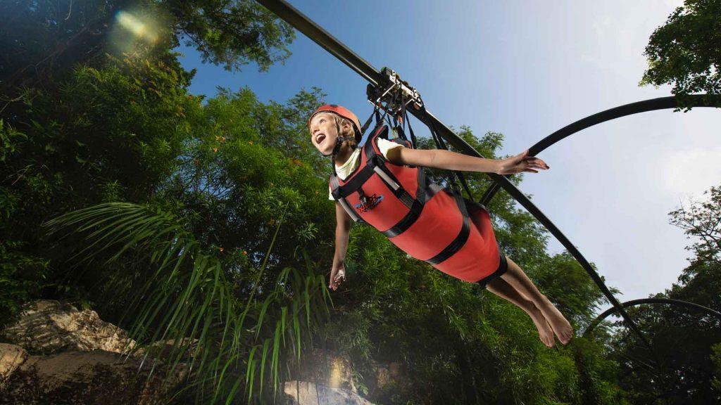 Xavage, nuevo parque de aventuras en Cancún