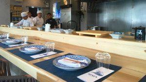 Ginza Barra: comida callejera con estilo japonés