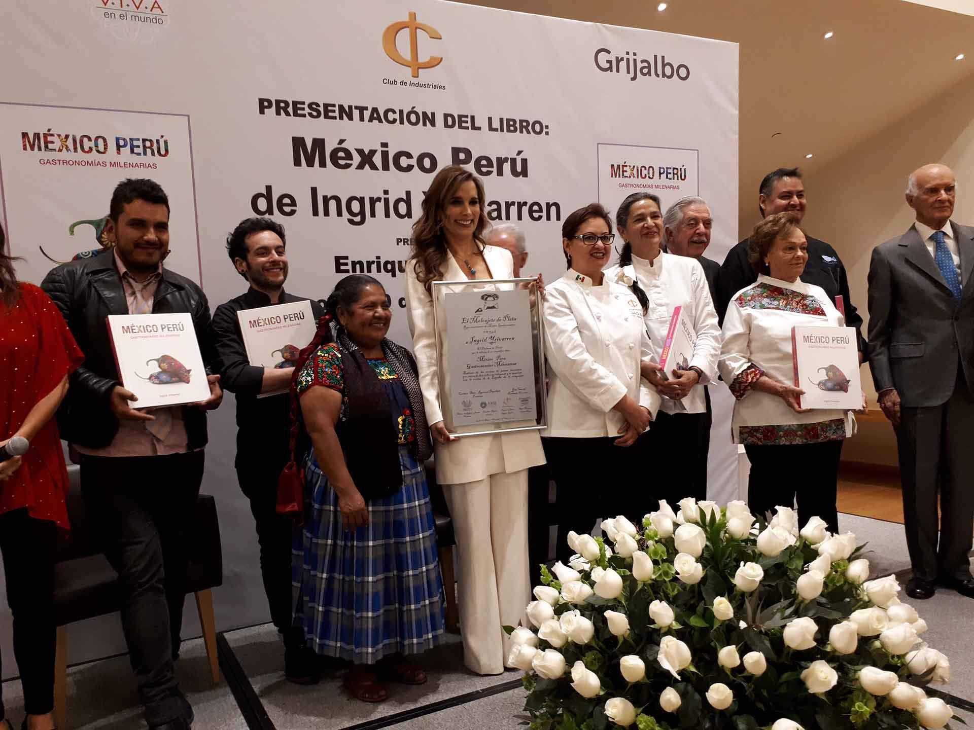 libro Perú y México