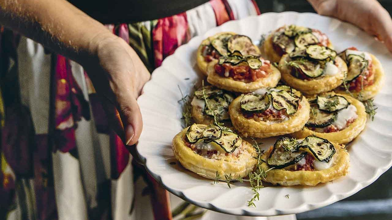 Pizzette de calabacitas
