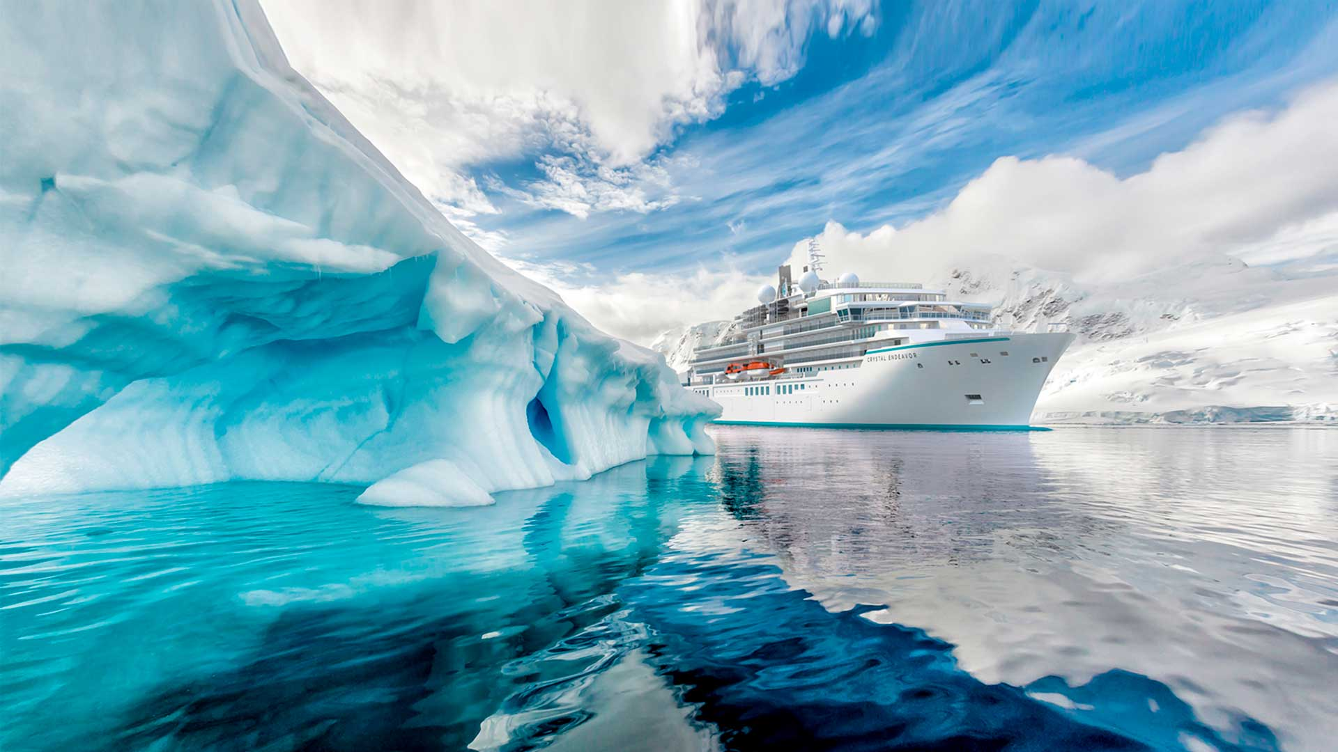 4 razones para navegar con Crystal Cruises