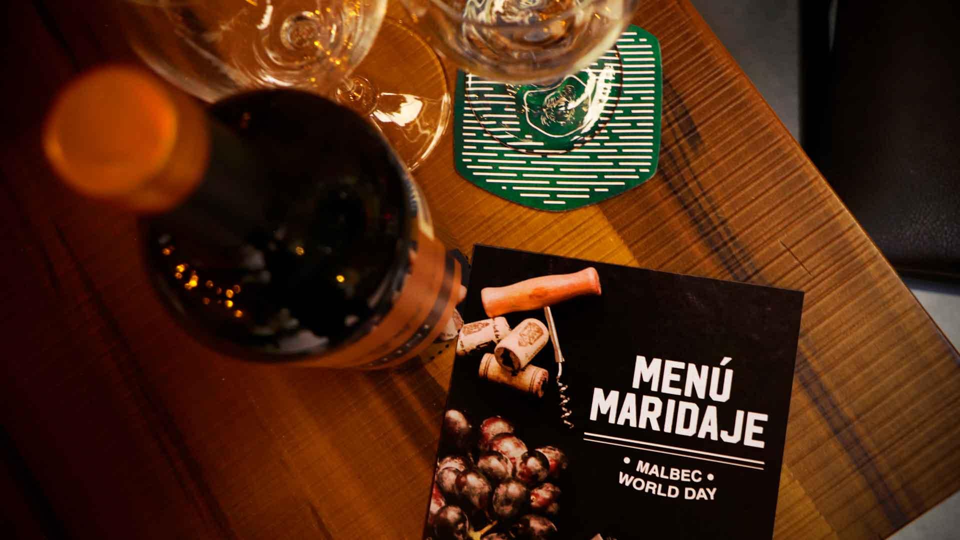 Celebra el Día del Malbec en Fonda Argentina