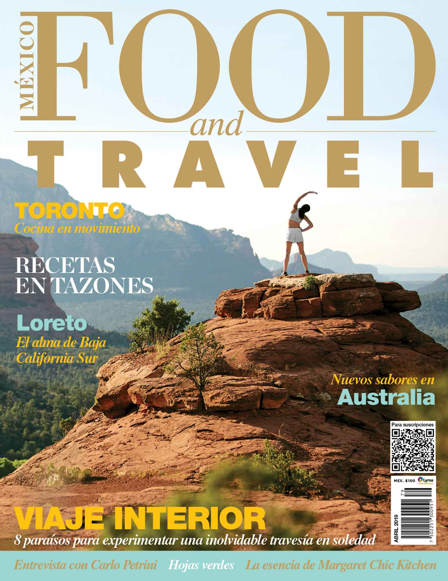 Portada Food and Travel Abril 2019