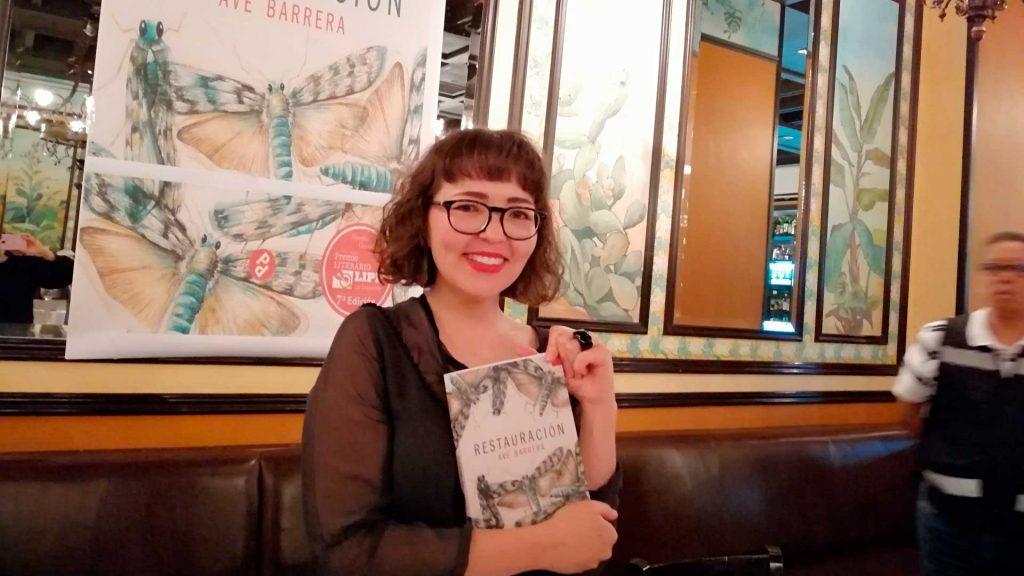 Y el Premio Literario Lipp La Brasserie 2018 es para …