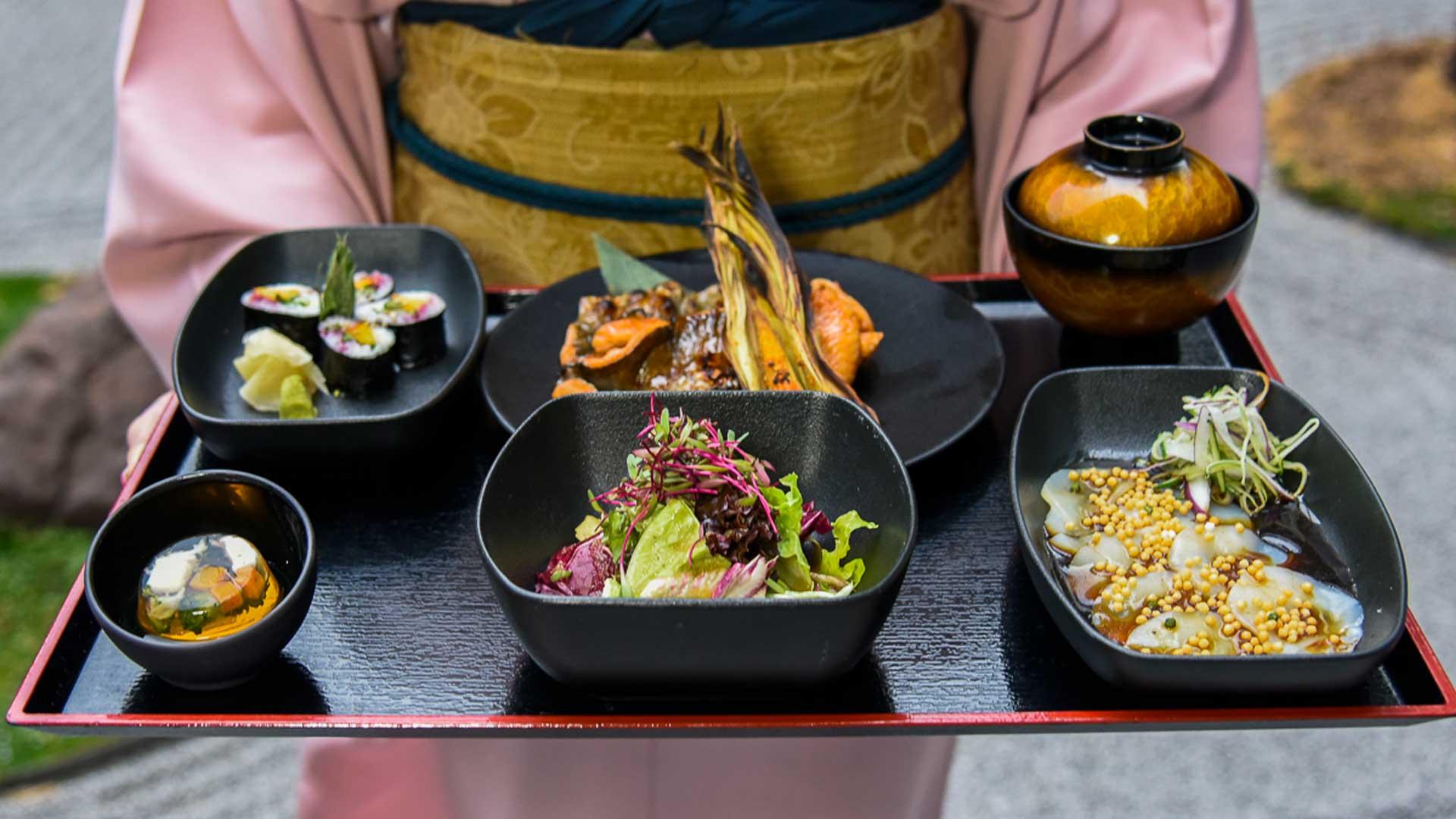 Disfruta en Yoshimi platillos de primavera