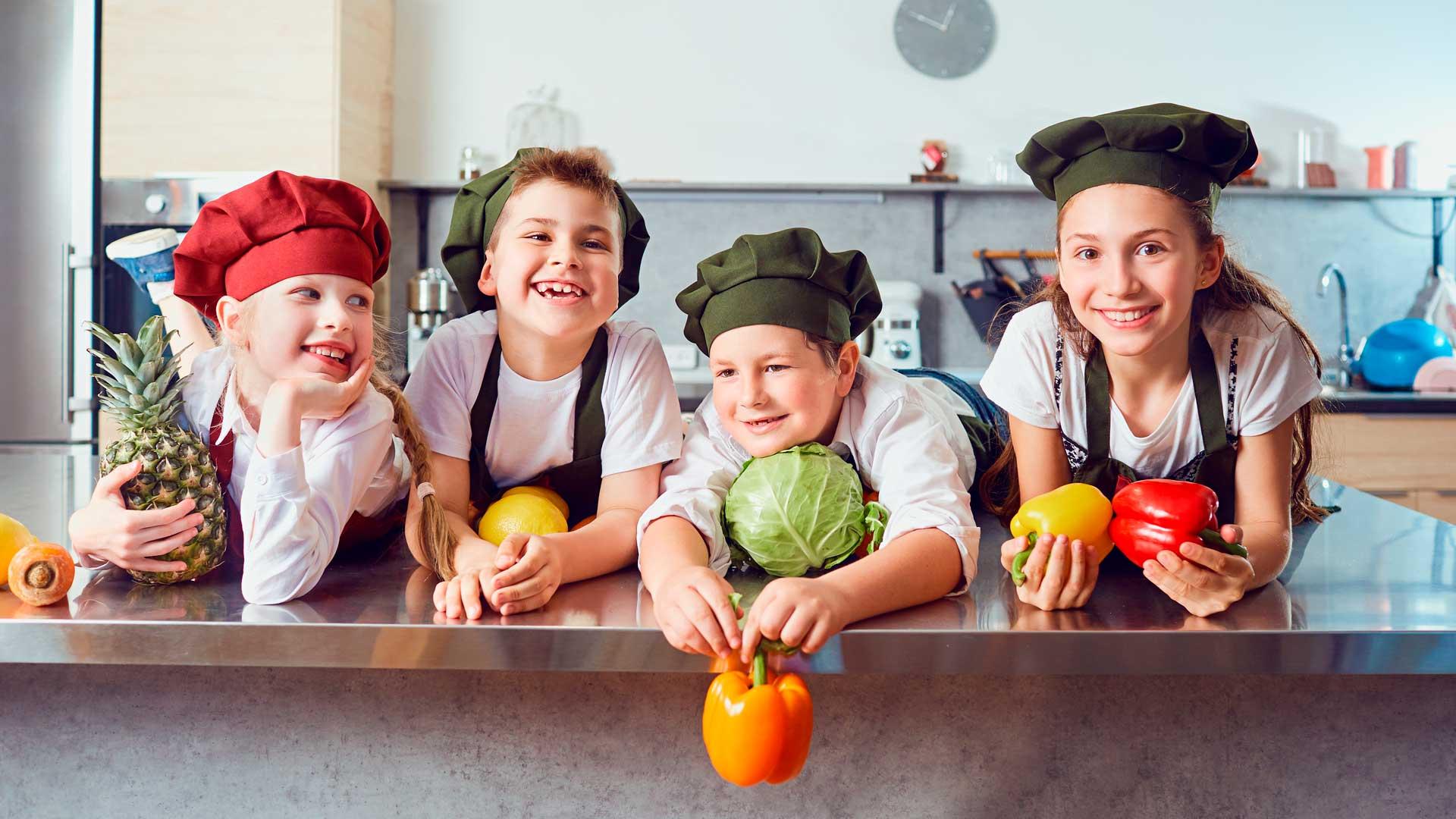 Actividades para niños con alma foodie