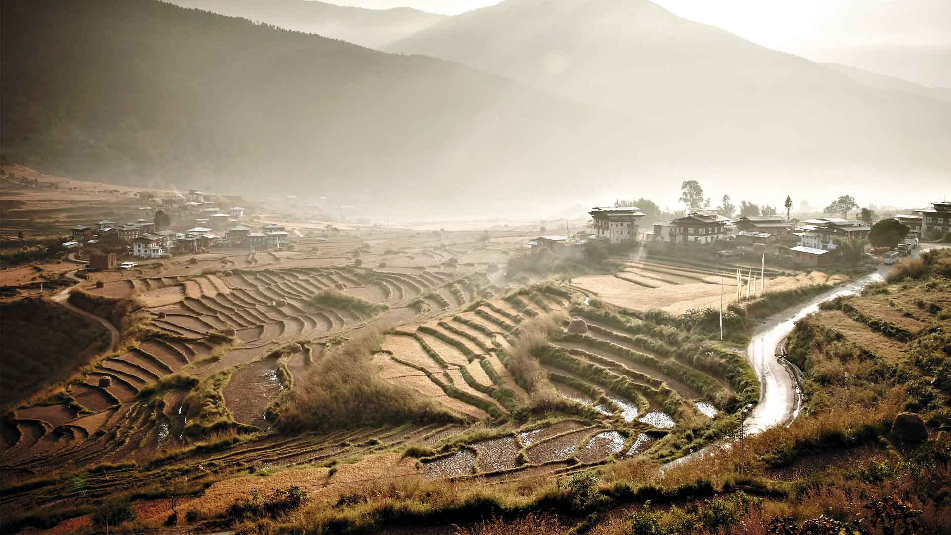 Recorre Timbú, un auténtico reino budista