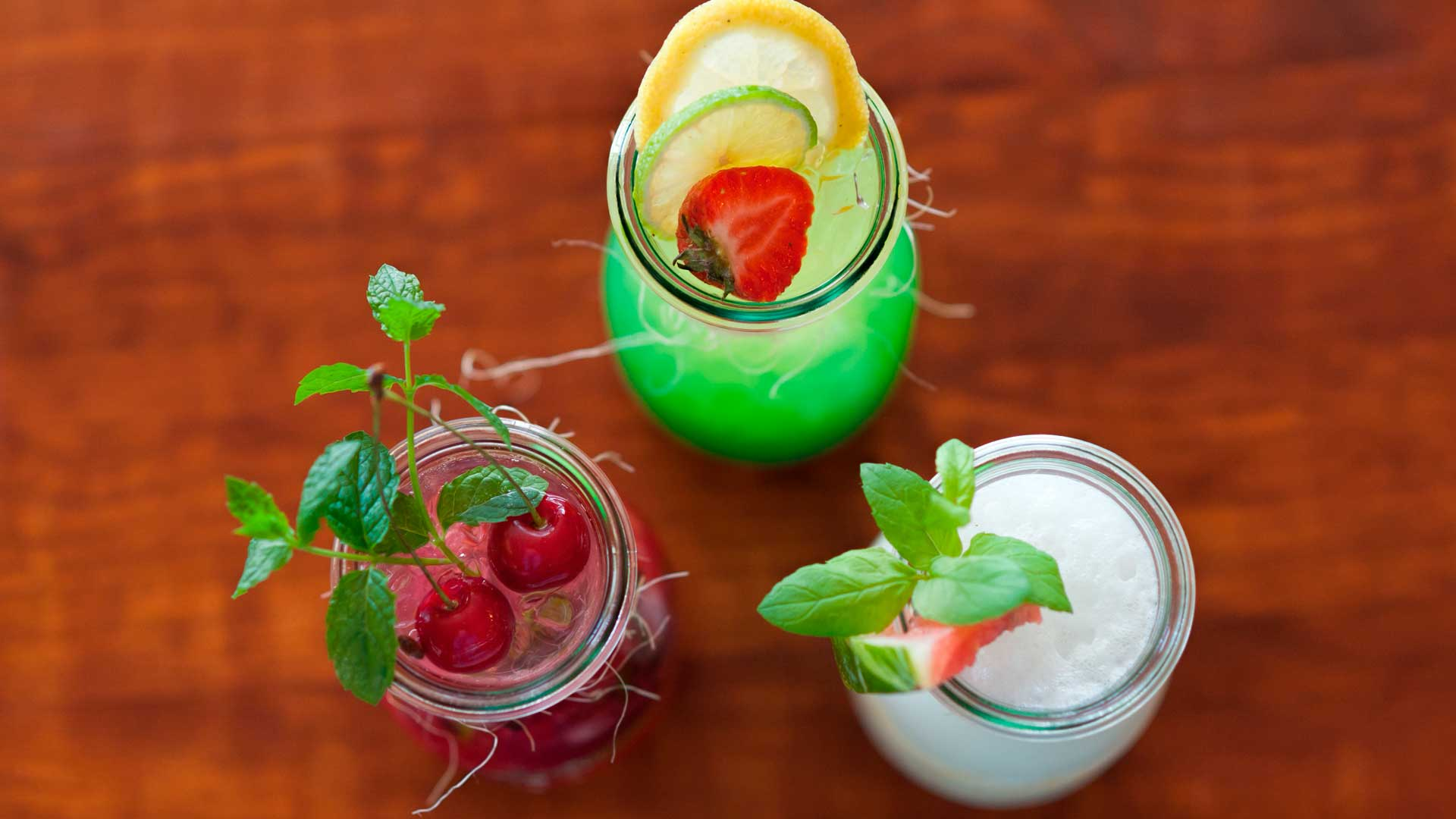 En boga: mocktails, healthy food y low alcohol