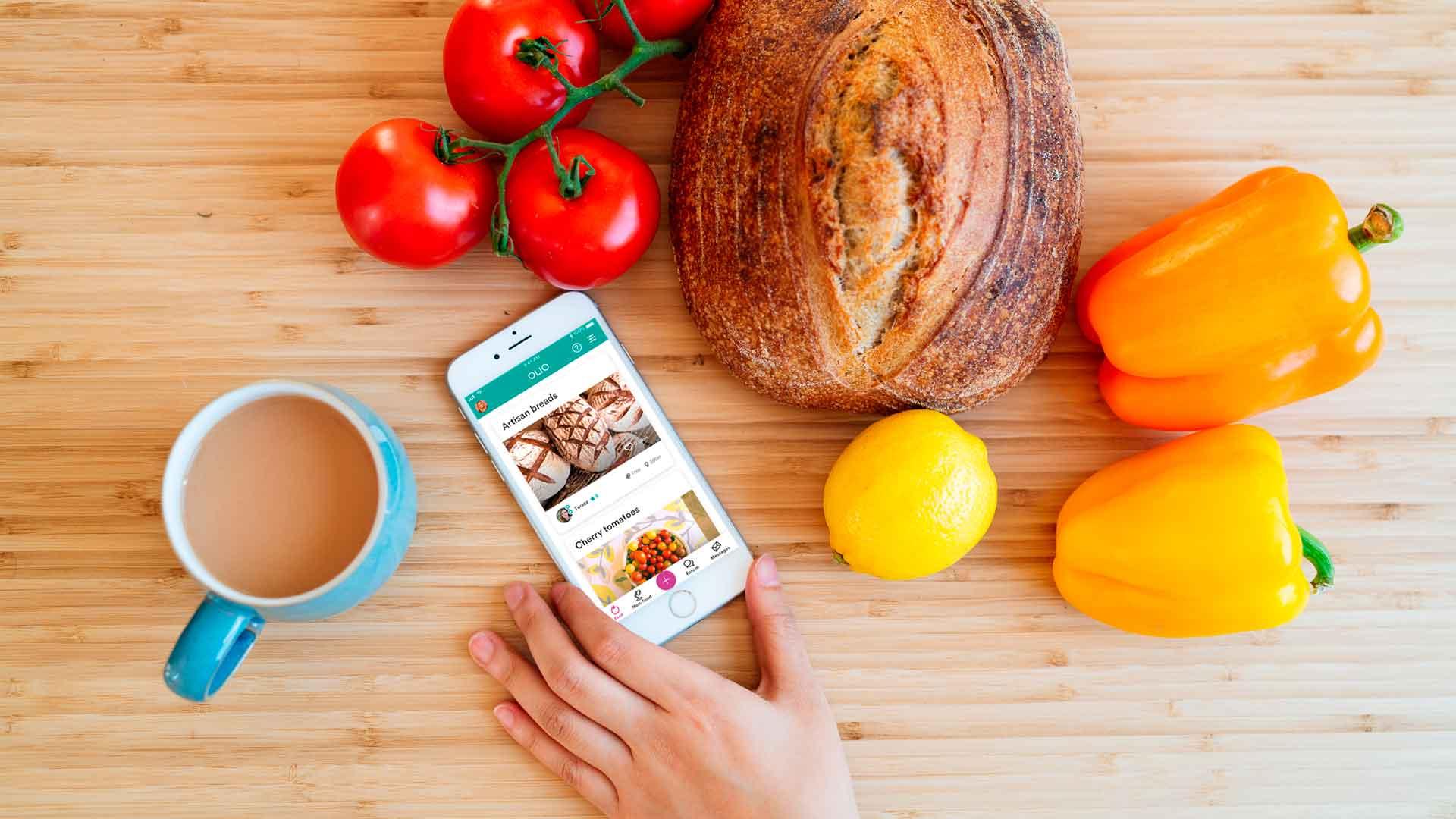 Olio, una app contra el desperdicio de alimentos