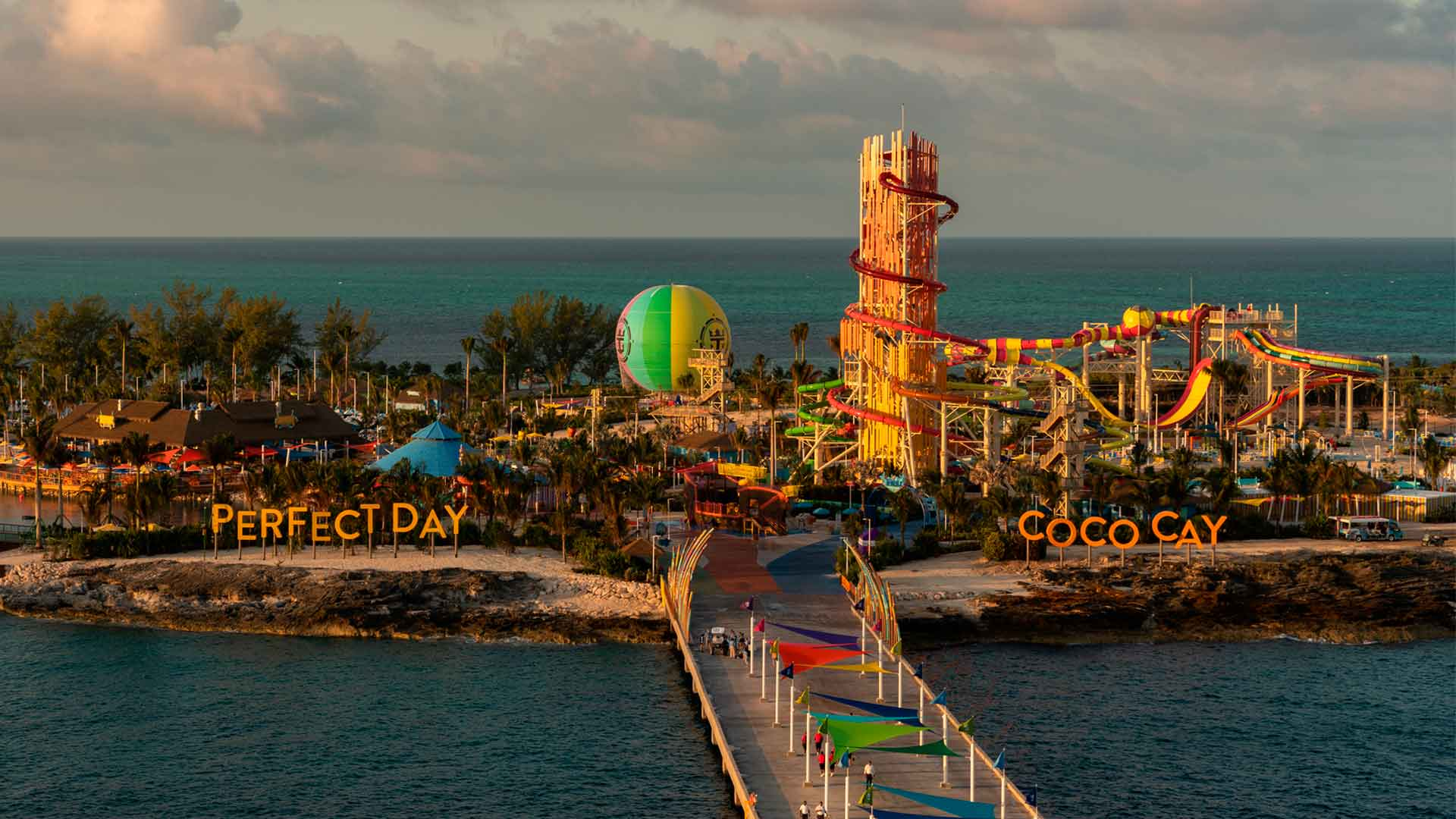 Royal Caribbean te pone a gozar con Perfect Day at CocoCay