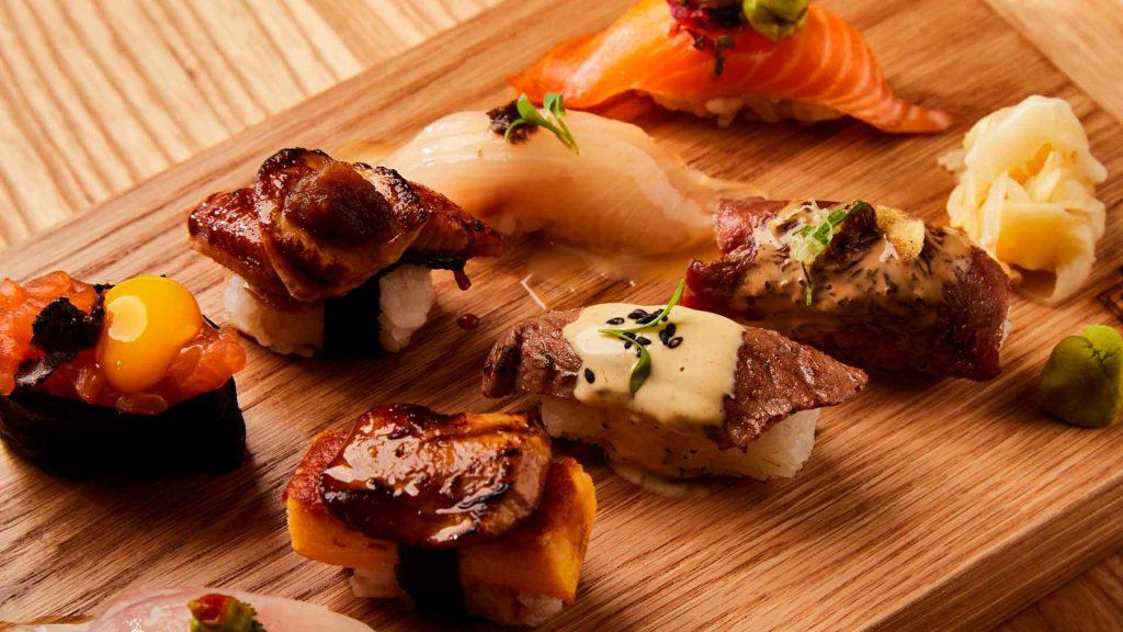 4 platillos para saborear Japón en Oku