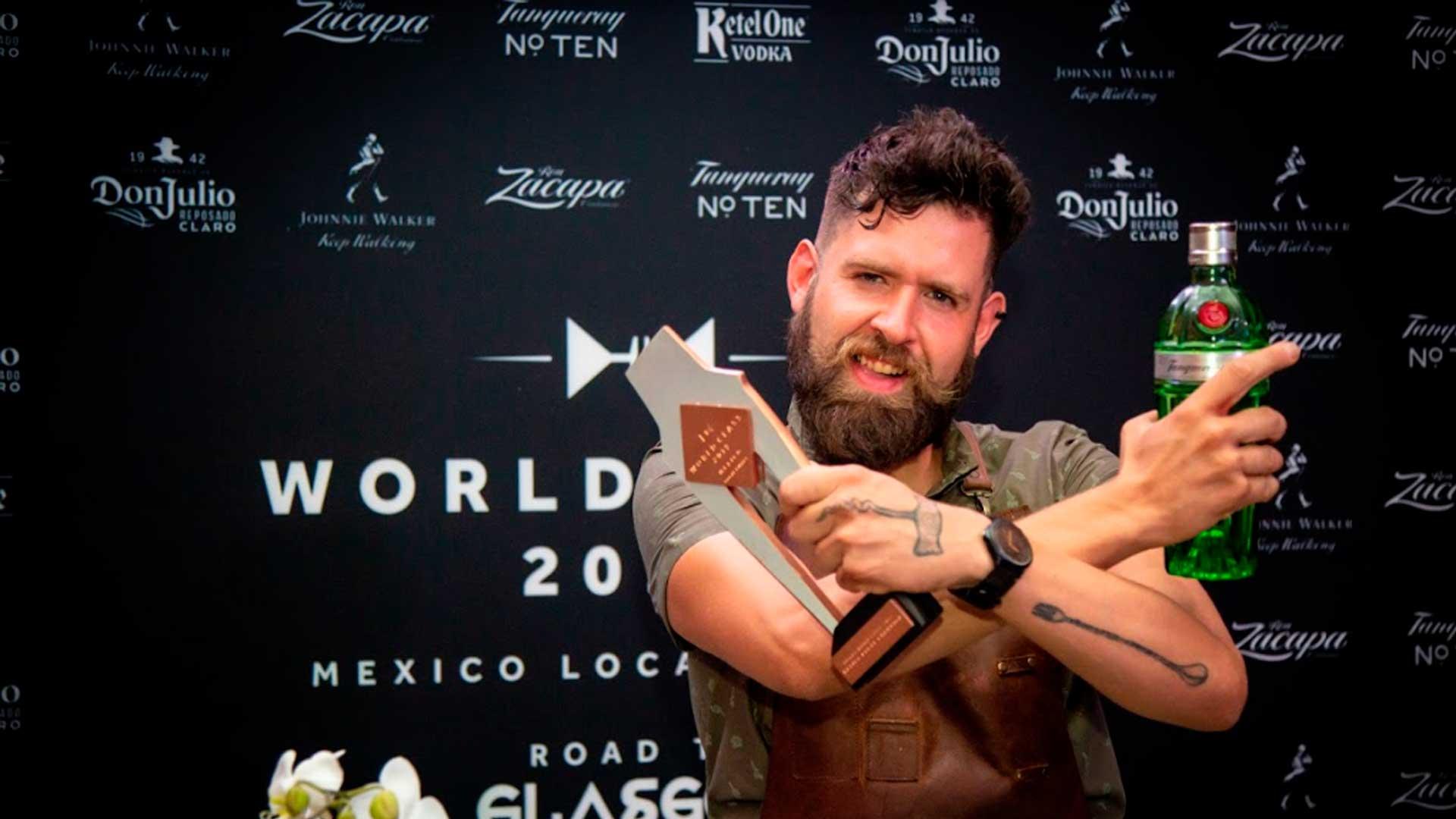 Rodrigo Vidales del bar Blacksmith es el ganador de World Class México
