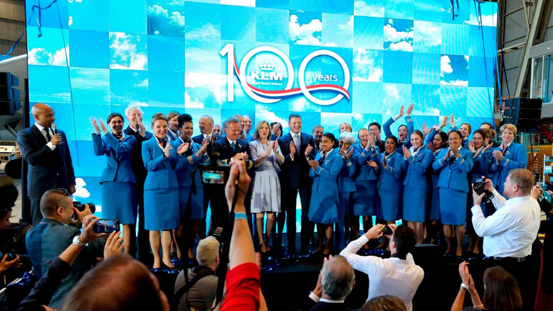 KLM 100 años surcando el cielo