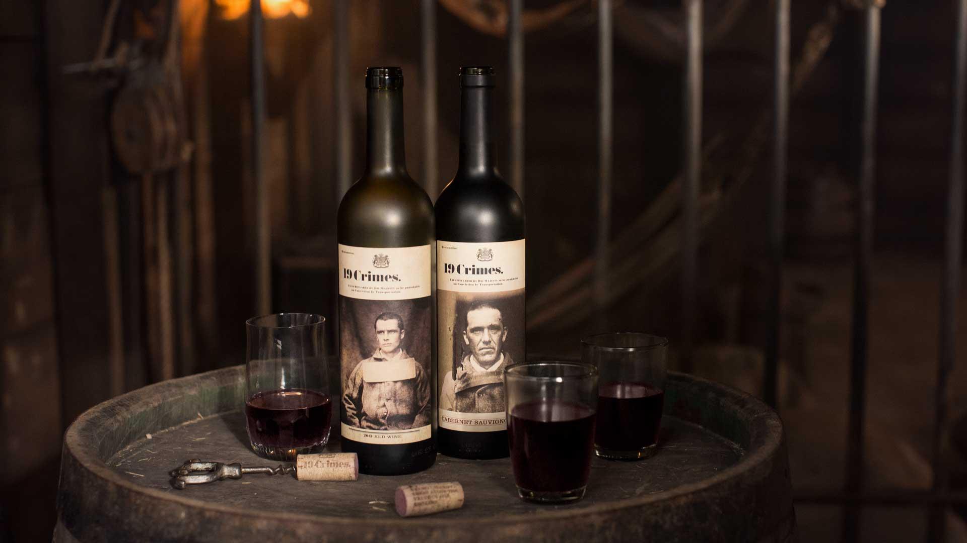 19 Crimes, un vino con sabor a delito