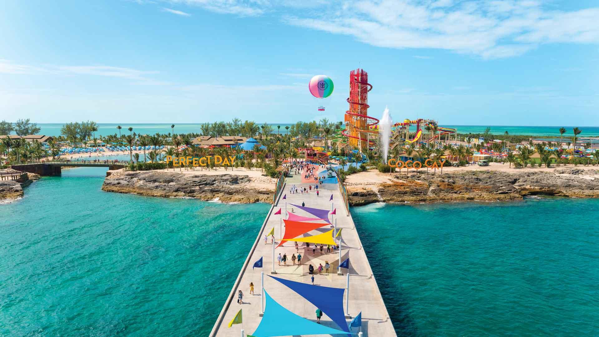 Conoce CocoCay, la isla privada de Royal Caribbean que te sorprenderá