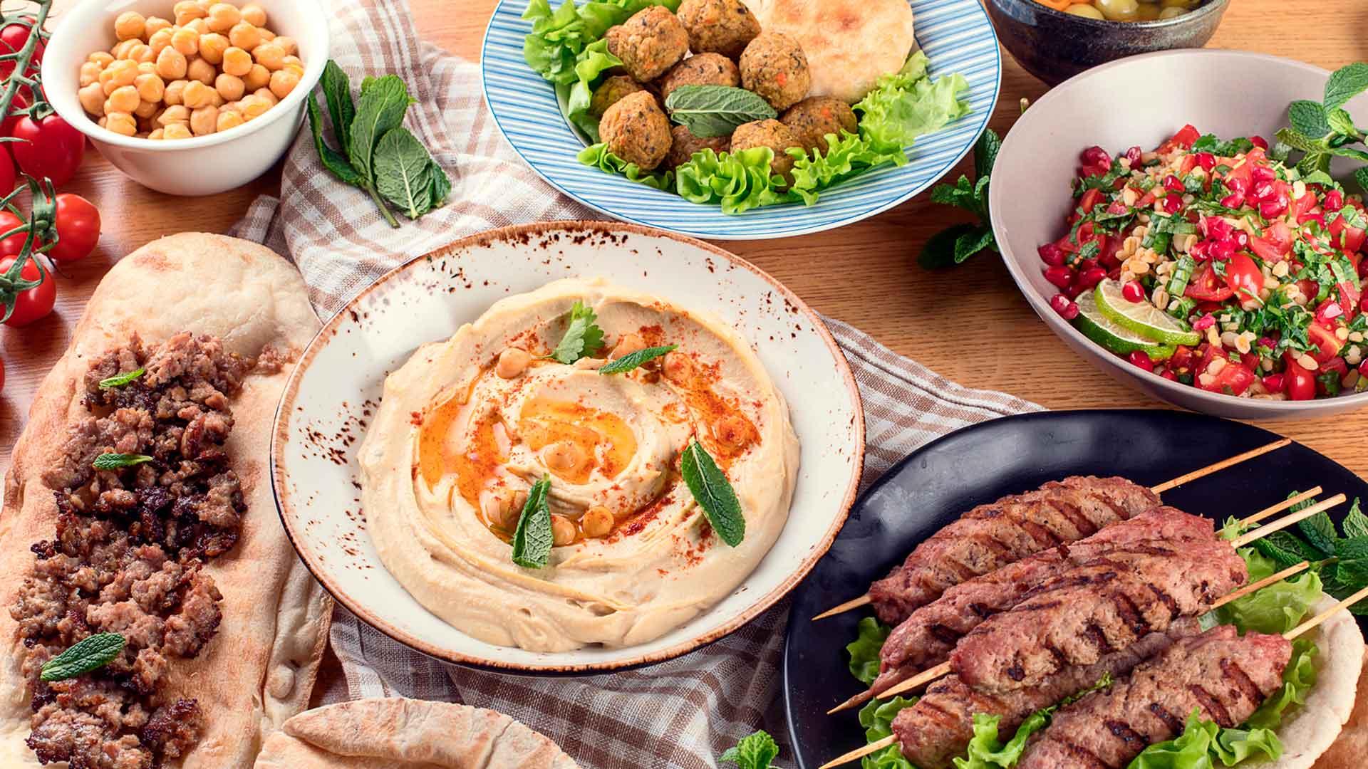 5 lugares de comida árabe en Ciudad de México
