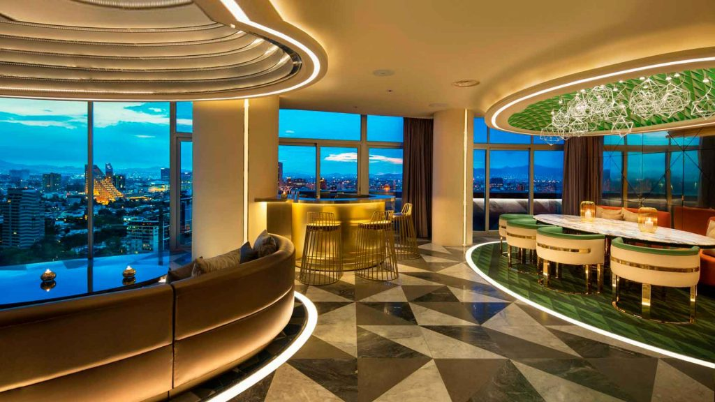 Bar Hanky Panky toma la E Wow Suite del hotel W Mexico City
