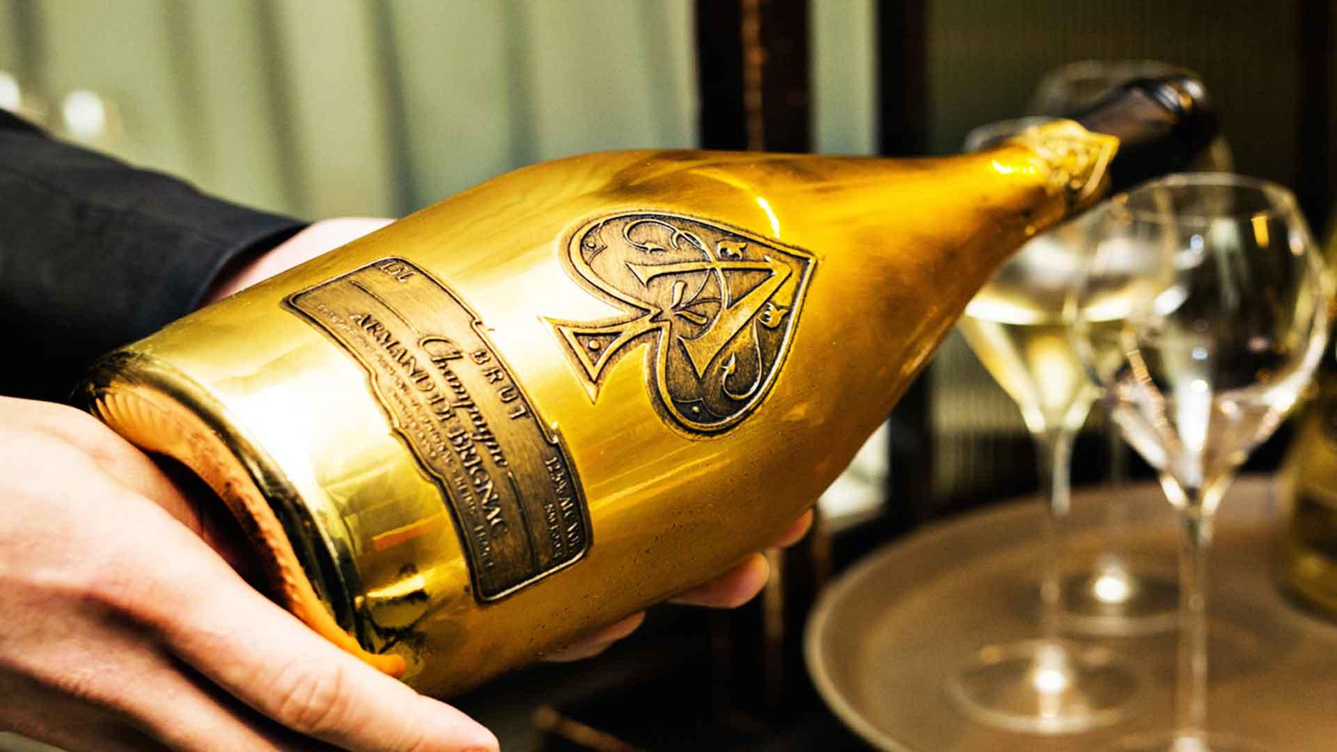 Armand de Brignac: cena con una de las mejores champañas del mundo