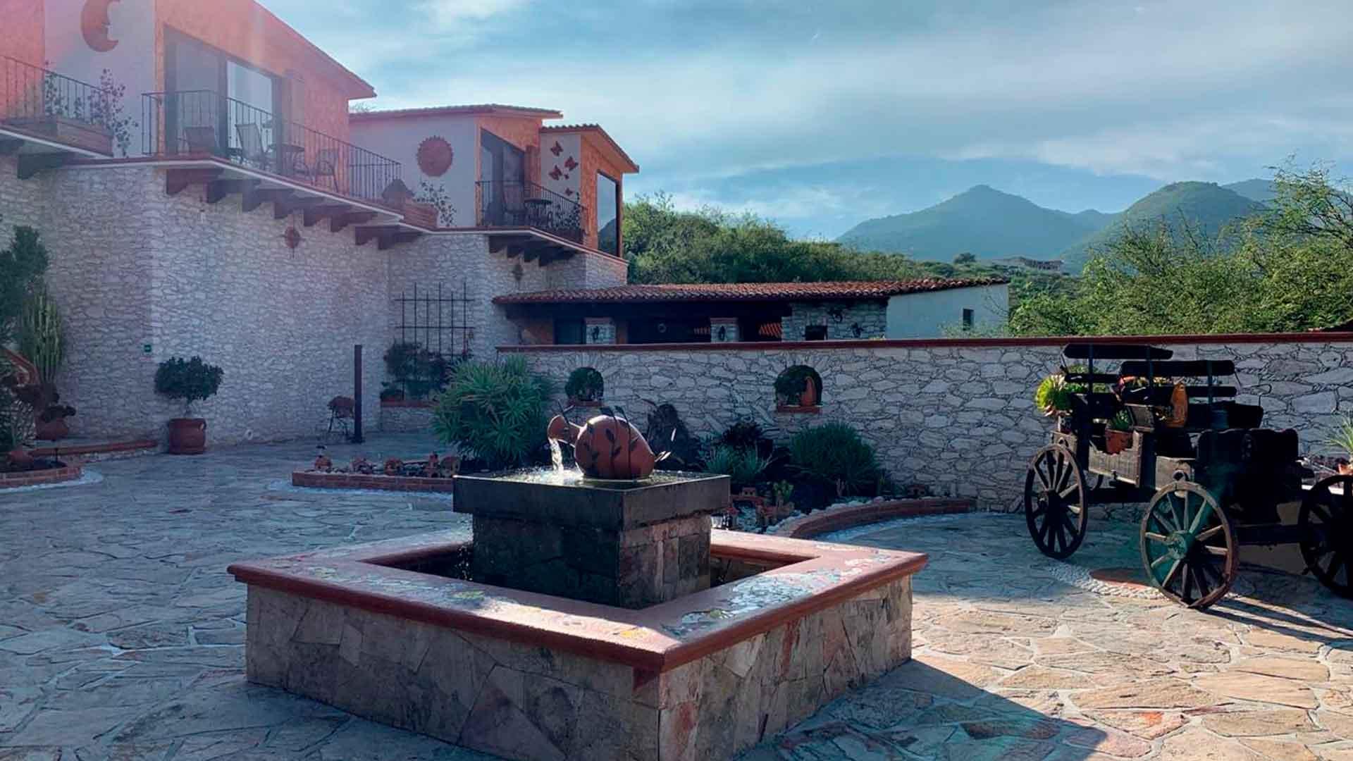 3 hoteles para quedarse en Bernal