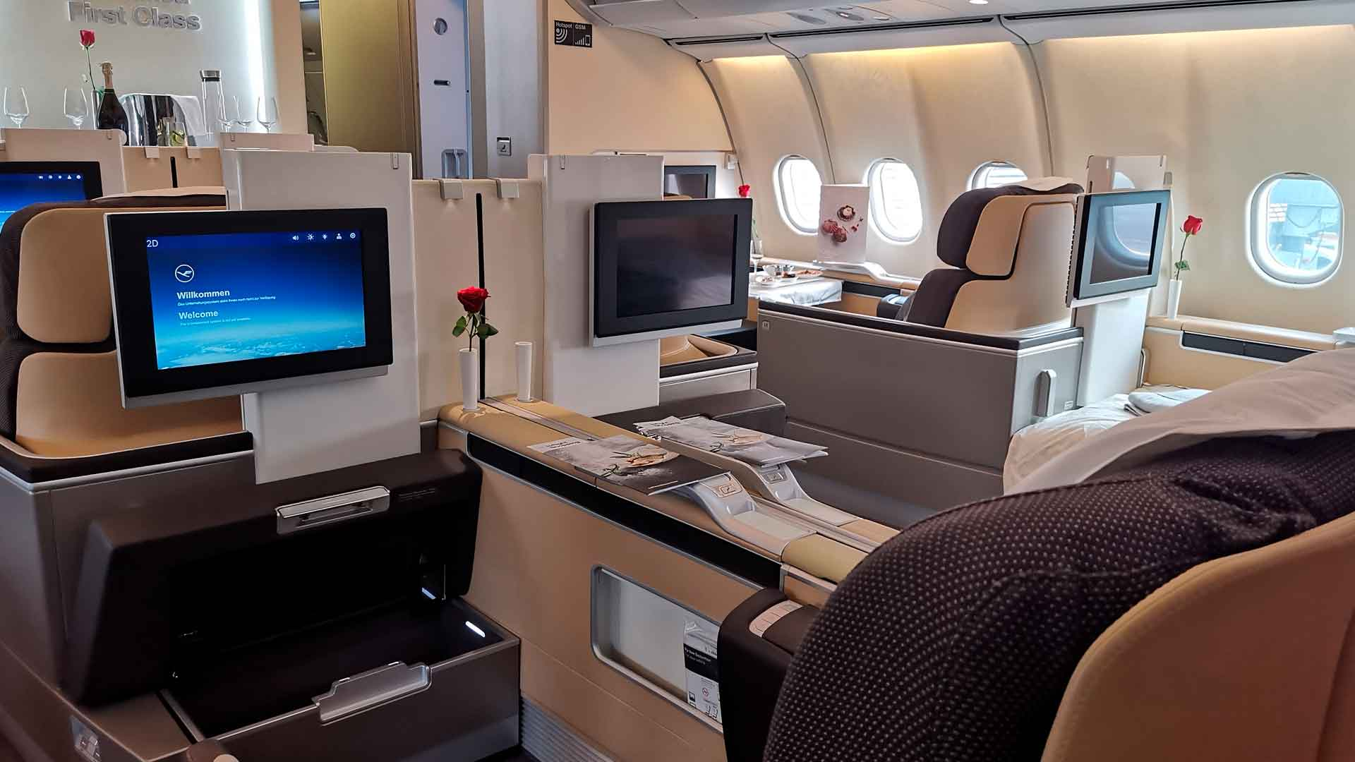 Conoce la exclusiva First Class de Lufthansa