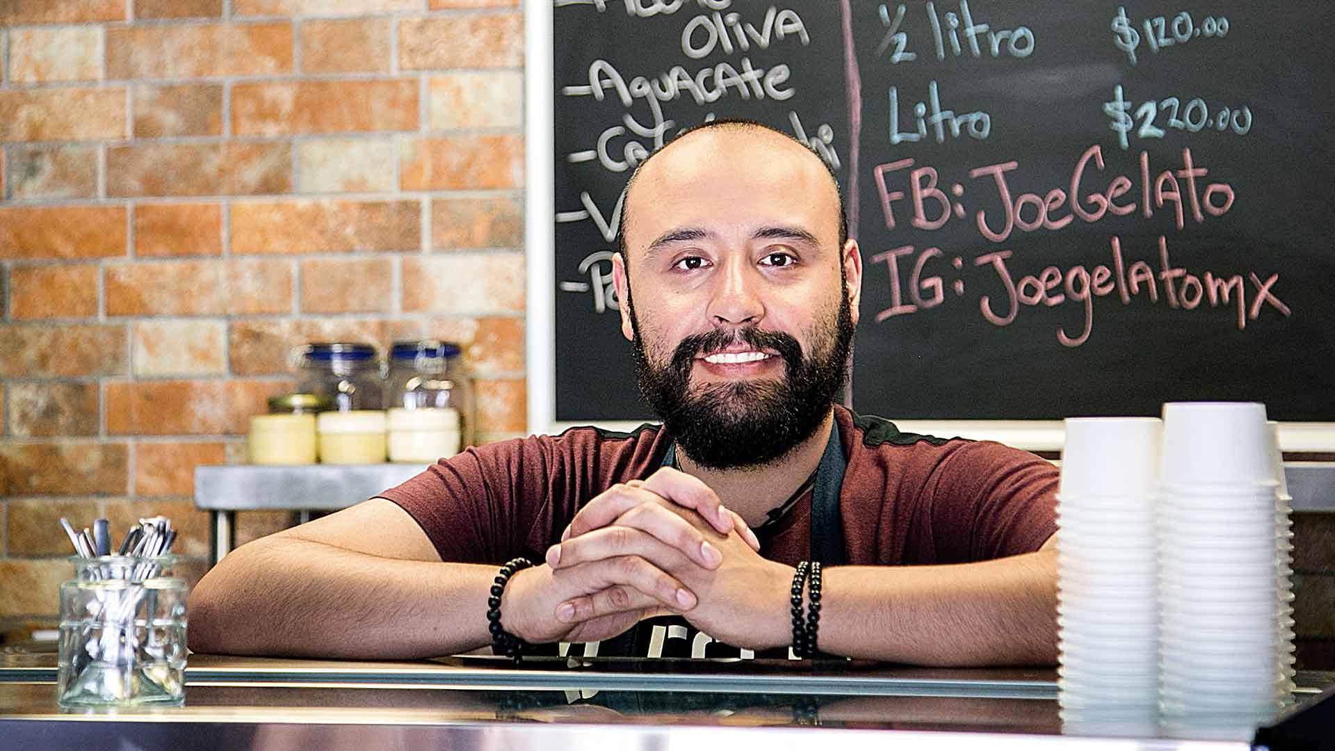 José Luis Cervantes, el genio detrás de Joe Gelato