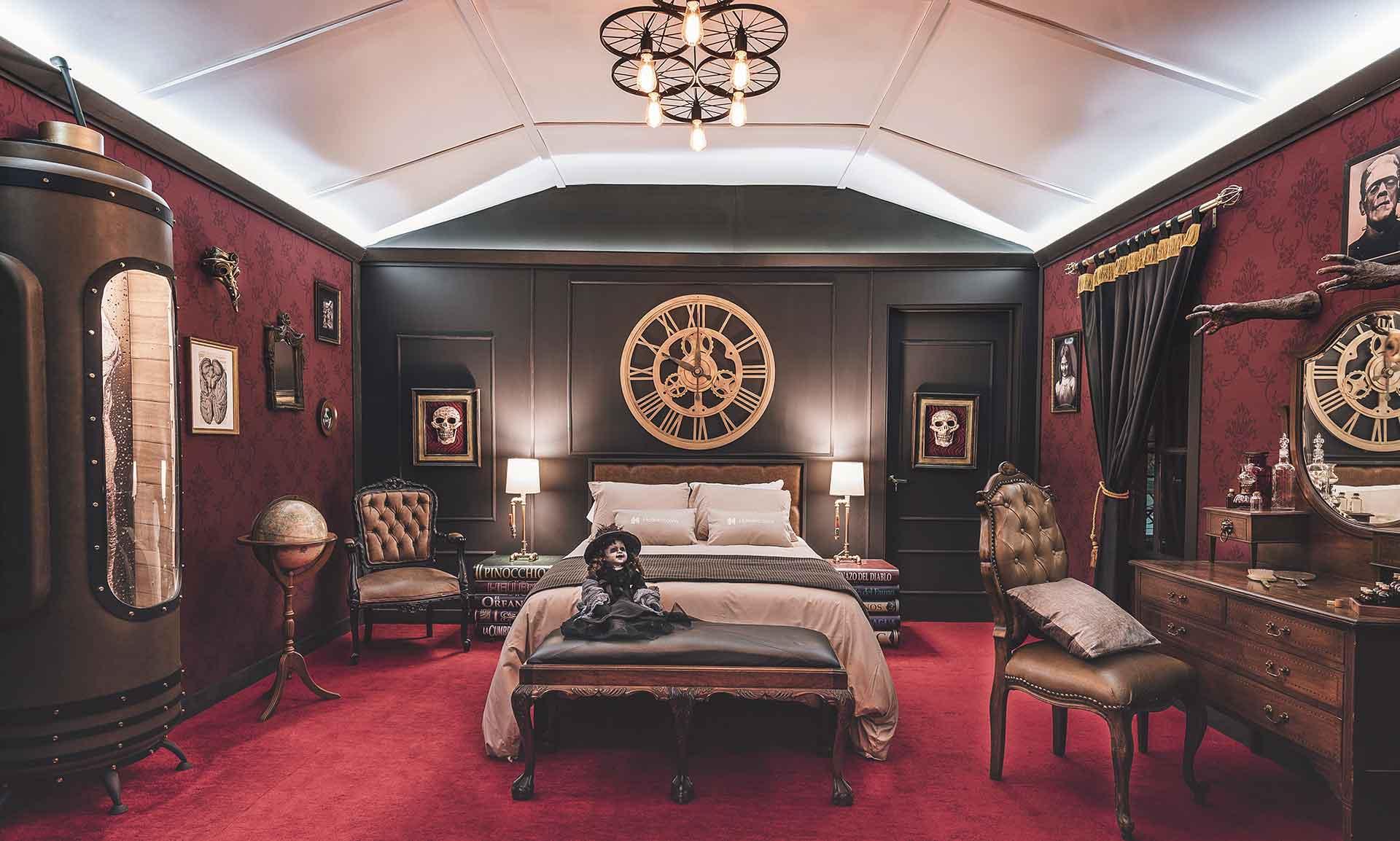 Duerme con «En casa con mis monstruos» en Monster Suite