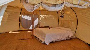 Tendo Glamping: acampar con estilo