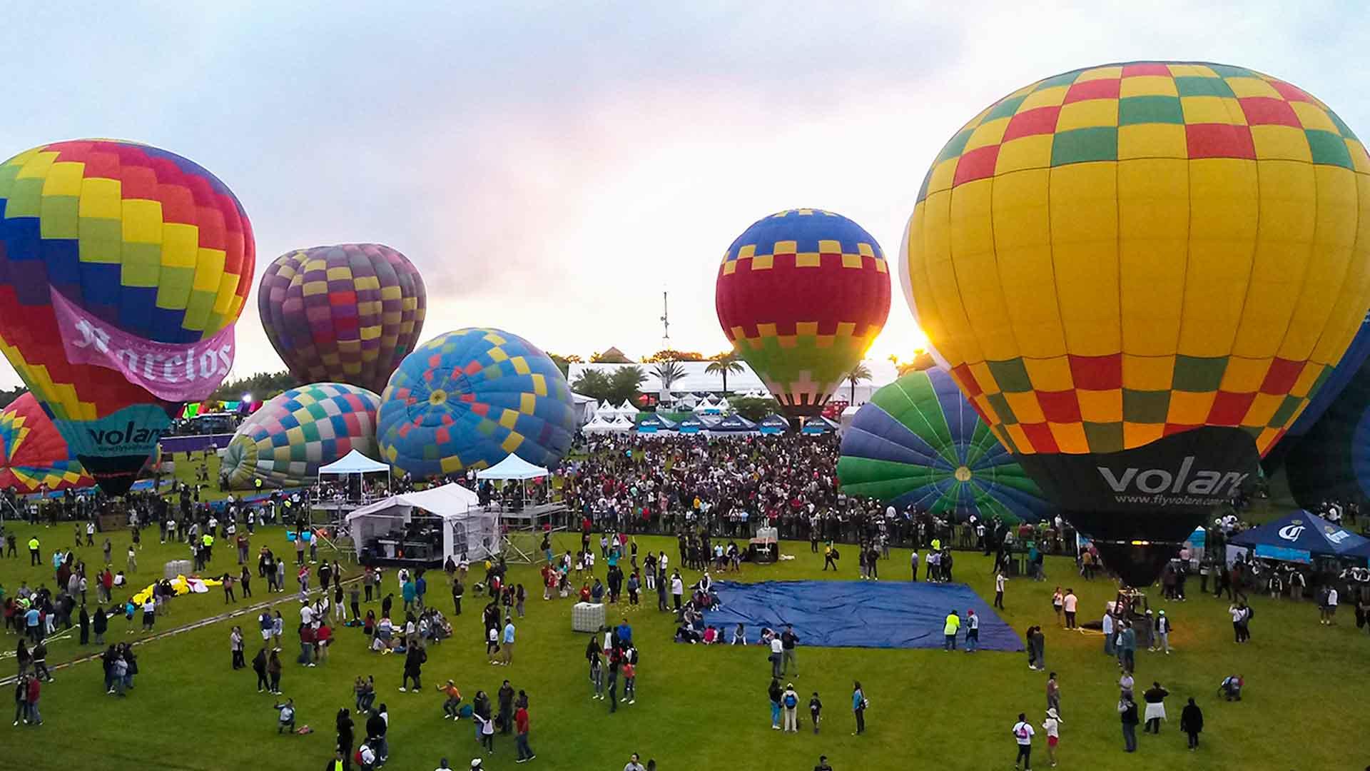 Festival Nacional del Globo 2019: entre colores y nubes