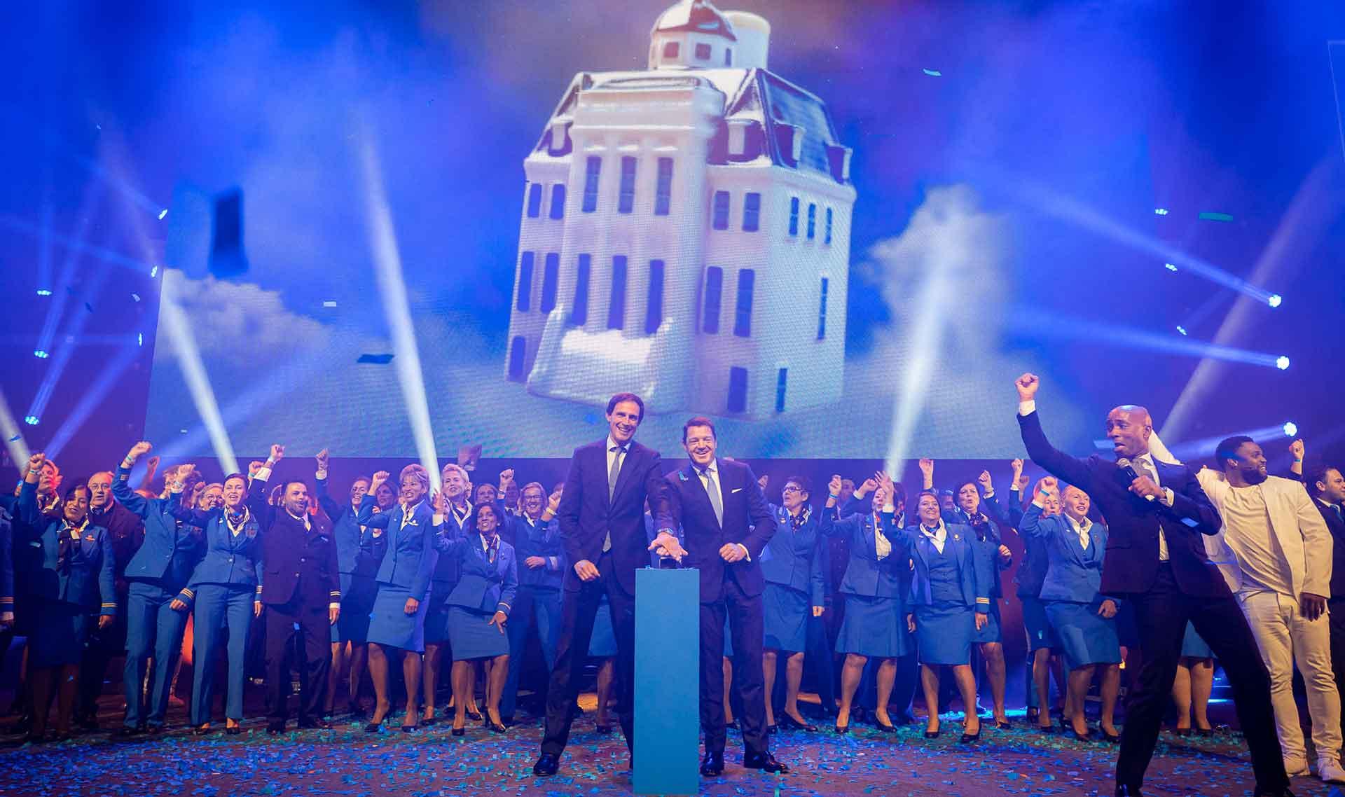 KLM celebra 100 años de historia