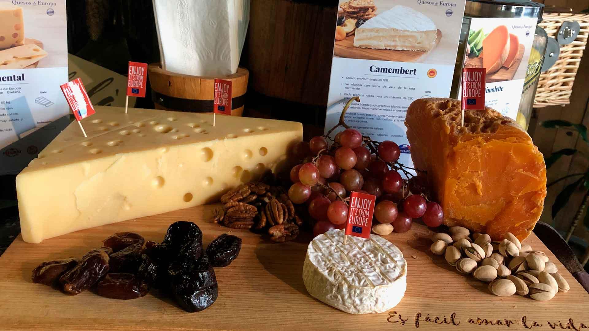 ¿Te gustan los quesos? Emociónate con el 3er Festival Quesos de Europa