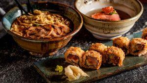 ¿Cocina japonesa al carbón?, pruébala en Robata