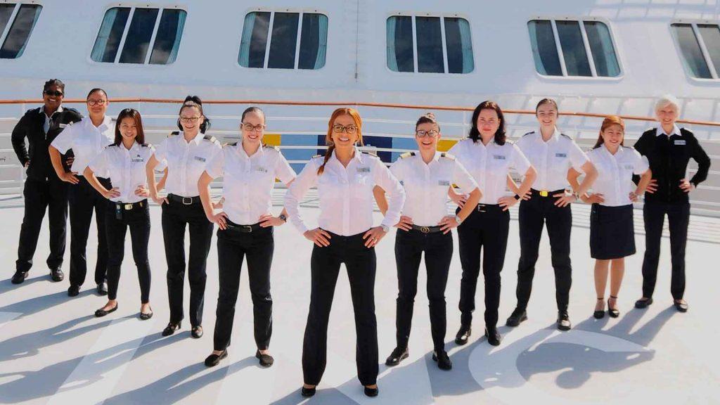 Celebrity Edge será liderado solo por mujeres