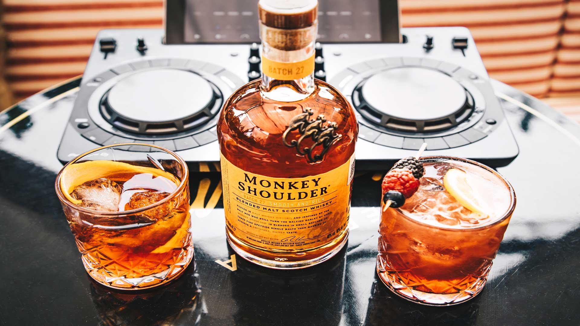 Monkey Shoulder: el whisky más irreverente que se mezcla