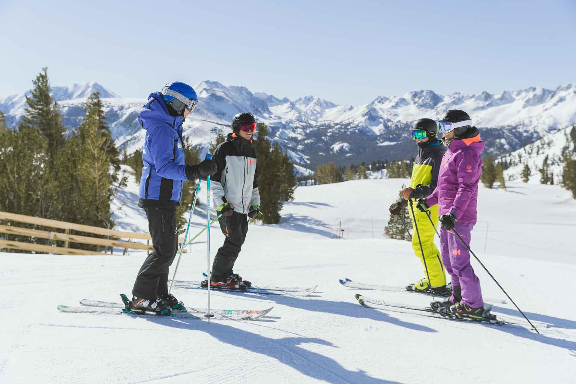 Principiantes esquí