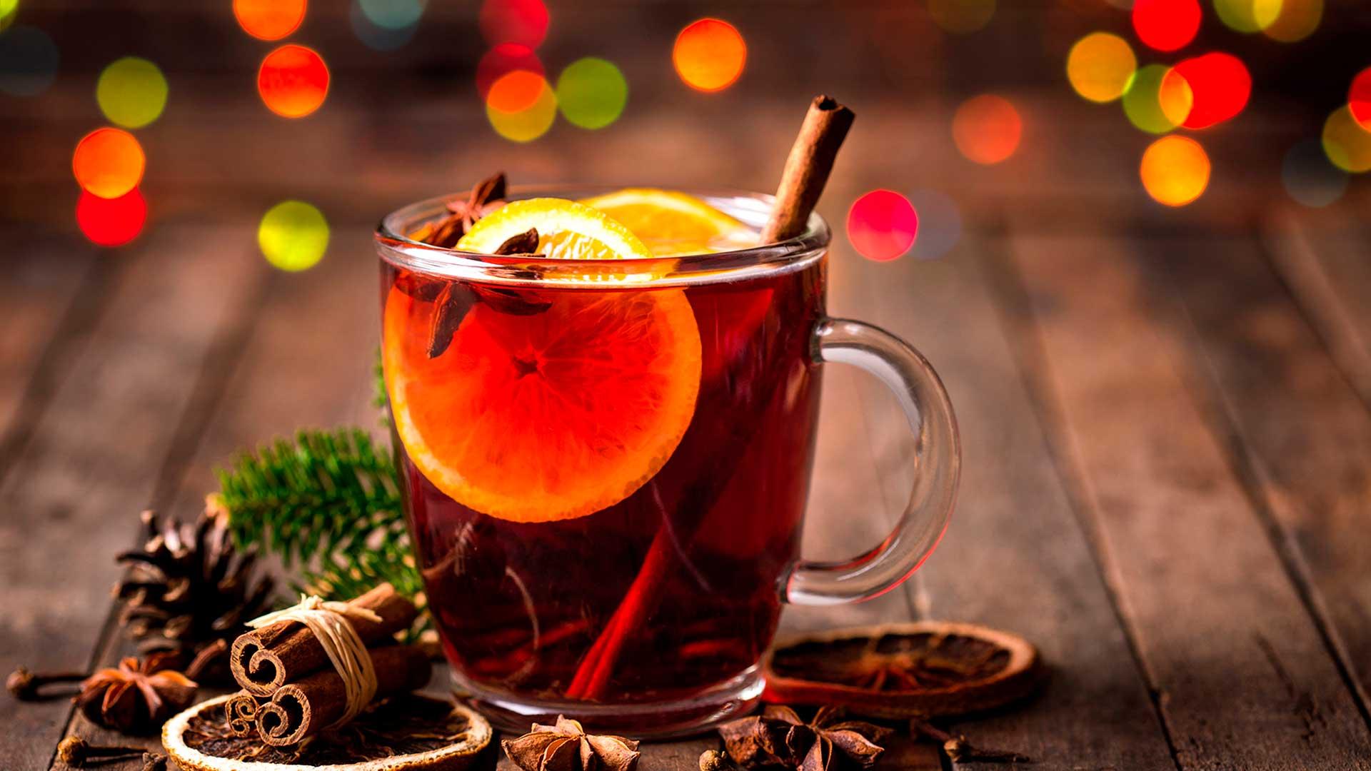 Christmas Spiced Tea: el té de Navidad