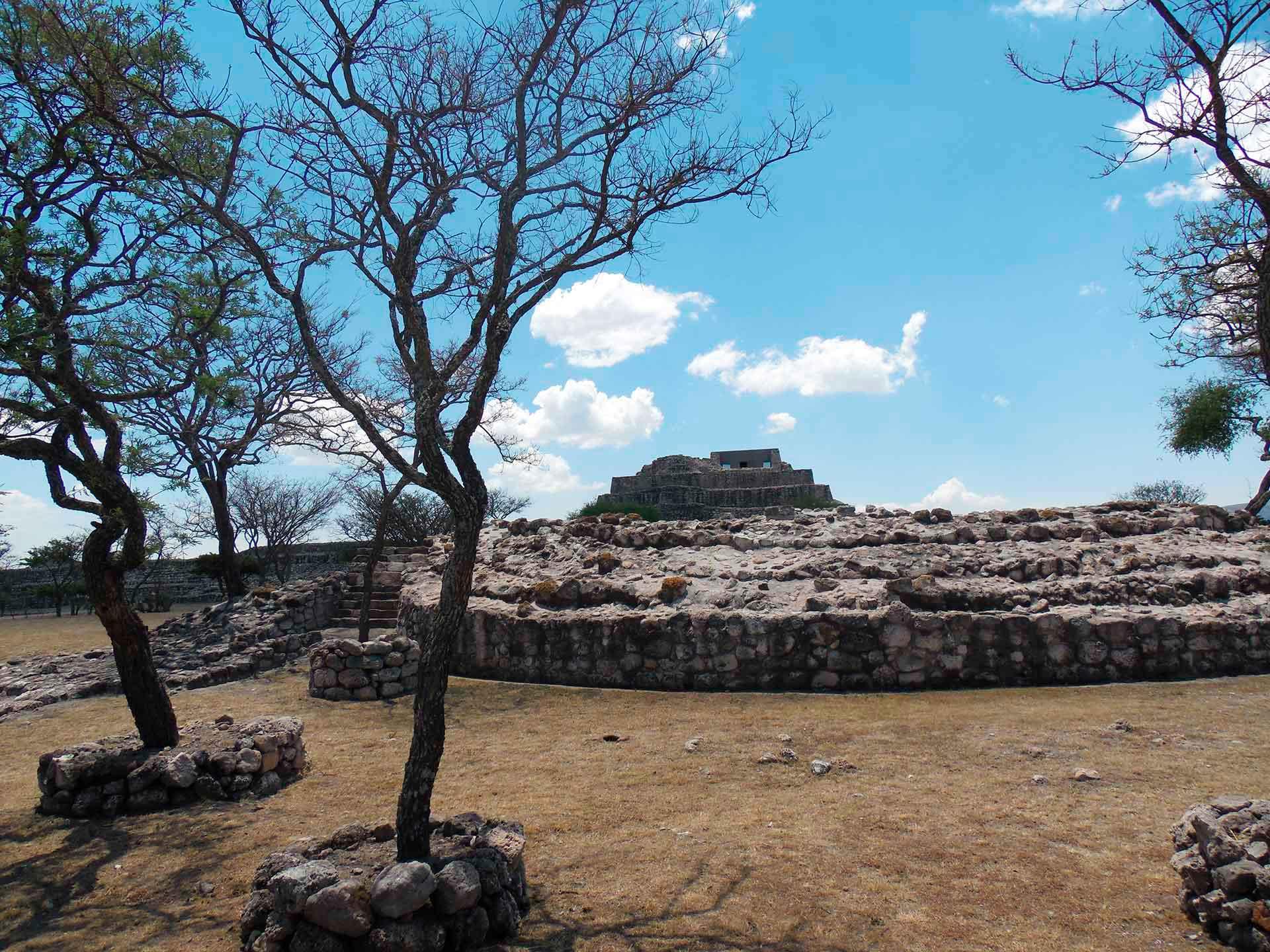 Zonas arqueológicas Cañada de la virgen