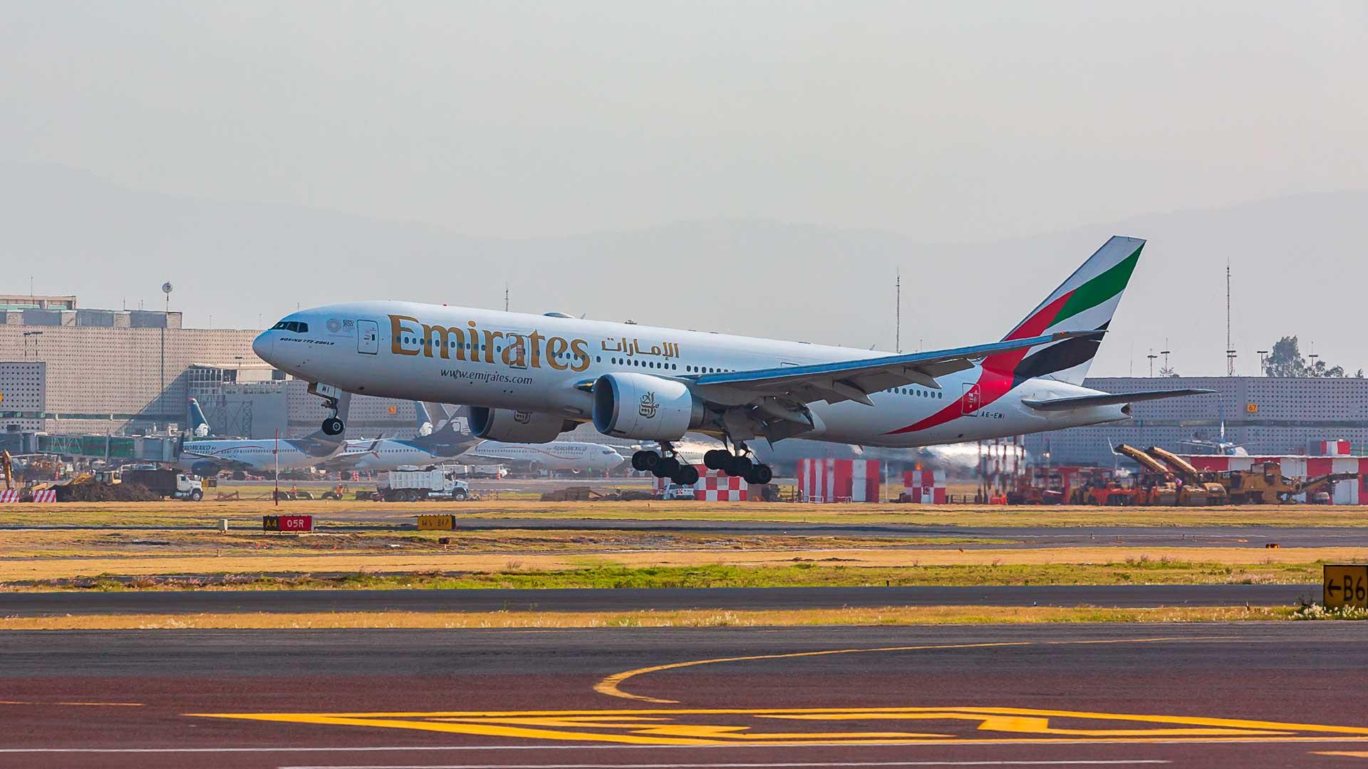 Emirates Airlines te lleva de México a Dubai